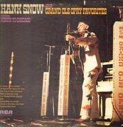 Hank Snow - Hank Snow Sings Grand Ole Opry Favorites