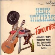 Hank Williams With His Drifting Cowboys - Hank Williams Favourites