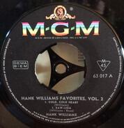 Hank Williams - Hank Williams Favourites Vol.2