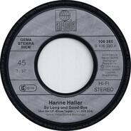 Hanne Haller - So Long Und Good-Bye