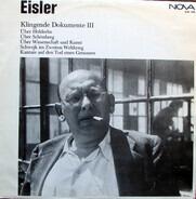 Hanns Eisler - Klingende Dokumente 3
