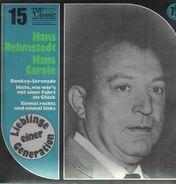 Hans Rehmstedt / Hans Carste - Lieblinge einer Generation
