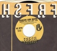Hanson & Davis - Hungry For Your Love / Hold On To Yesterday