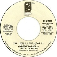 Harold Melvin And The Blue Notes - The Love I Lost (Part 1)