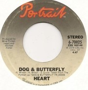 Heart - Dog & Butterfly / Mistral Wind