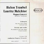 Helen Traubel, Lauritz Melchior - Wagner Concert