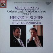 Henri Vieuxtemps / Heinrich Schiff , Sir Neville Marriner , Radio-Sinfonieorchester Stuttgart - Cellokonzerte / Cello Concertos No 1 & 2