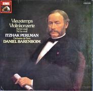 Henri Vieuxtemps / Itzhak Perlman , Orchestre De Paris : Daniel Barenboim - Violinkonzerte Nr. 4 D-moll • Nr. 5 A-moll