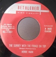 Herbie Mann - The Surrey With The Fringe On Top / Sorimao