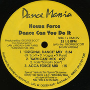 House Force - Dance Can You Do It