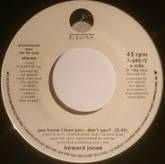 Howard Jones - You Know I Love You ... Don't You?