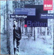 Britten - Our Hunting Fathers / Quatre Chansons Françaises / Folksongs a.o.