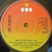 Ian Hunter - Once Bitten Twice Shy