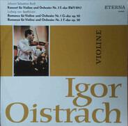 Bach / Beethoven - Violinkonzert Nr. 2 / 2 Romanzen Für Violine Und Orchester