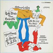 Igor Stravinsky , Ernest Ansermet , L'Orchestre De La Suisse Romande - Quatre Etudes Pour Orchestre / Suites Nos. 1&2 Pour Petit Orchestre / Divertimento - Le Baiser De L