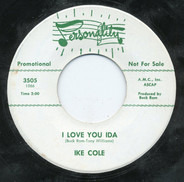 Ike Cole - I'm Getting Mighty Lonesome For You / I Love You Ida