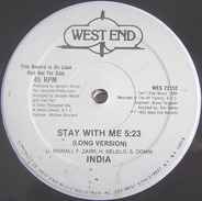 India - STAY WITH ME
