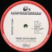 Instant Funk - Hard Days Night / No Stoppin' That Rockin'