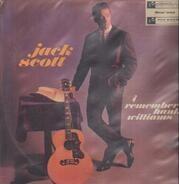 Jack Scott - I Remember Hank Williams