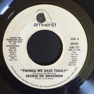 Jackie DeShannon - things we said today