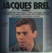 Jacques Brel - Volume 3