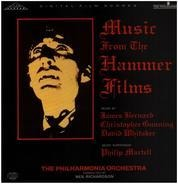 James Bernard , Christopher Gunning , David Whitaker , Philharmonia Orchestra , Neil Richardson - Music From The Hammer Films
