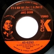 James Brown - It's A New Day / Georgia On My Mind