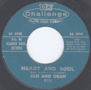 Jan & Dean - Heart And Soul / Midsummer Night's Dream