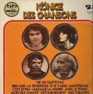 Jaques Brel, Juliette Greco, Daniel Guichard, Leo Ferre - Könige des Chansons