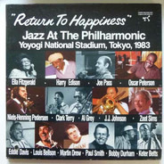 """Jazz At The Philharmonic - """"Return To Happiness"""" Jazz At The Philharmonic, Yoyogi National Stadium, Tokyo, 1983"""