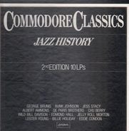 Jazz Compilation - Commodore Classics Jazz History 2nd Edition