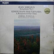 Jean Sibelius , Einojuhani Rautavaara , Jorma Panula , Helsinki Philharmonic Orchestra - Symphony No. 5 / A Requiem In Our Time