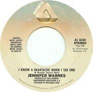 Jennifer Warnes - I Know A Heartache When I See One / Frankie In The Rain