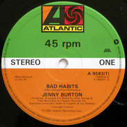 Jenny Burton - Bad Habits