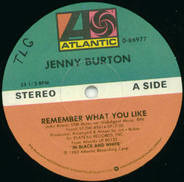 Jenny Burton - Remember What You Like