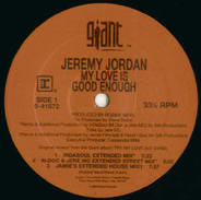 Jeremy Jordan - My Love Is Good Enough