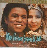 Jermaine Jackson , Pia Zadora - When the rain begins to fall