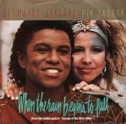 Jermaine Jackson / Pia Zadora - When The Rain Begins To Fall / Substitute