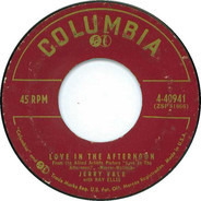 Jerry Vale - Love In The Afternoon / I'm Not Ashamed