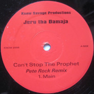 Jeru The Damaja - Can't Stop The Prophet (Remix)
