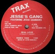 Jesse's Gang Featuring Jesse Saunders - Real Love