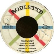 Jimmie Rodgers - Bimbombey / You Understand Me