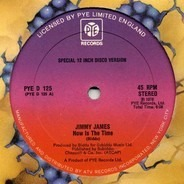 Jimmy James - Now Is The Time / I'll Go Where Your Music Takes Me