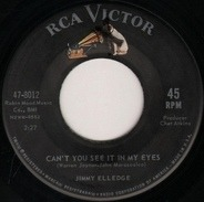 Jimmy Elledge - Can't You See It In My Eyes