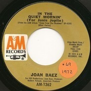 Joan Baez - In The Quiet Mornin' (For Janis Joplin)