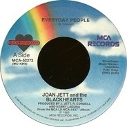 Joan Jett & The Blackhearts - Everyday People / Why Can't We Be Happy