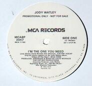 Jody Watley - I'm The One You Need