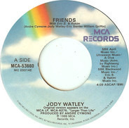 Jody Watley With Eric B. & Rakim - Friends / Private Life