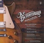 Joe Bonamassa - Record Store Day Exclusive Pressing