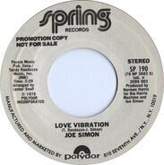Joe Simon - Love Vibrations